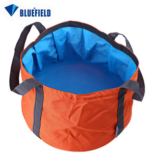 11L Bluefield Portable Folded Washbasin Camping Washbowl Outdoor Sport  Accessory