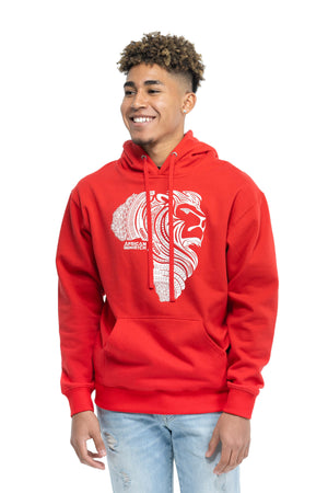 Red AR Hooded Sweatshirt