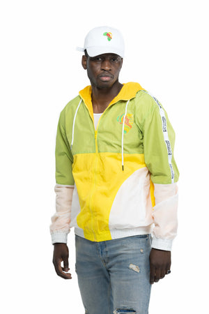 Retro Green and Yellow Jacket