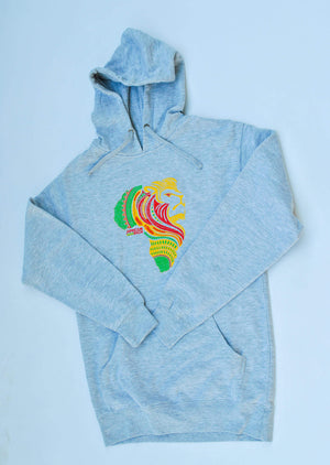 AfricanRich 3  Color Logo Hoodie