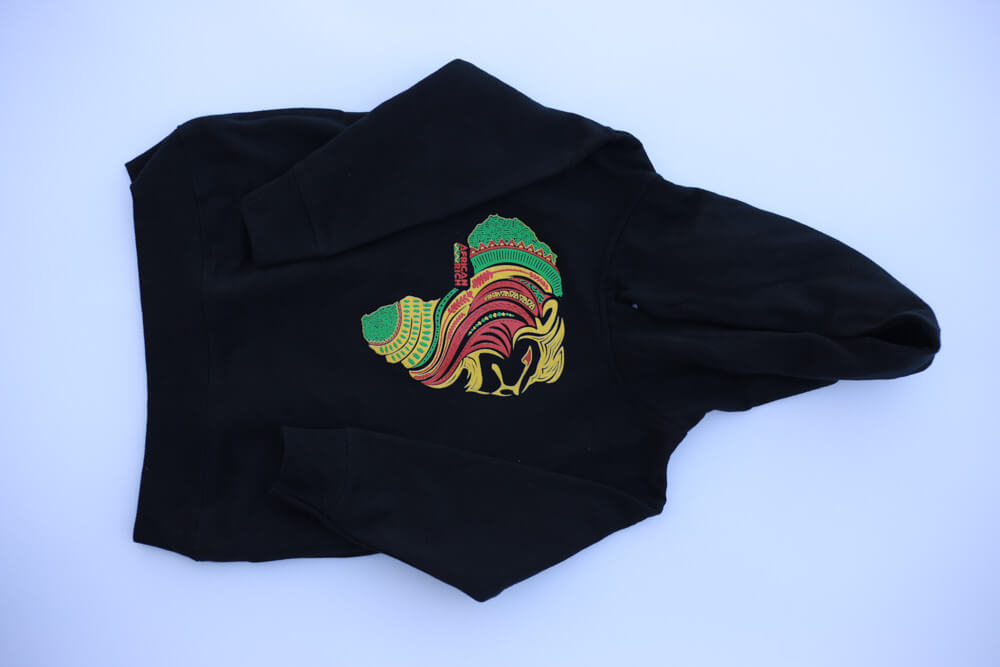 AfricanRich Three Color Classic Hoodie