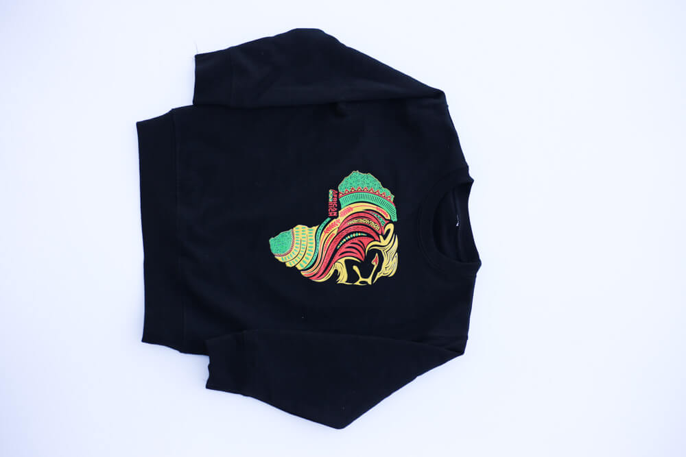 AfricanRich 3 Color Crewneck Sweater