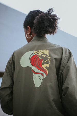 AfricanRich Classic Bomber Jacket