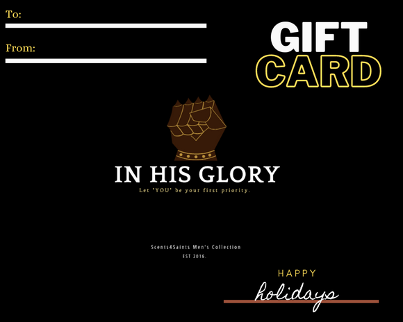 In His Glory Gift Card