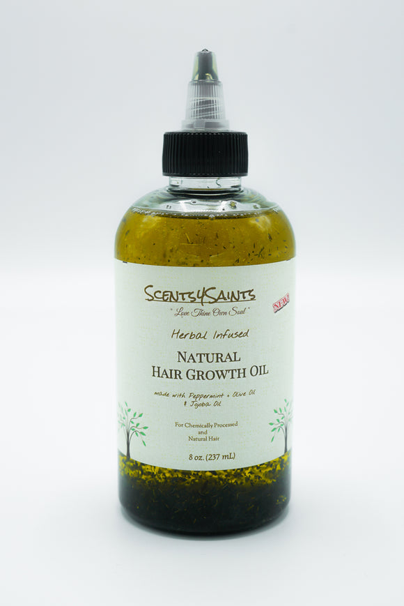 Herbal Infused: Hair Growth Oil