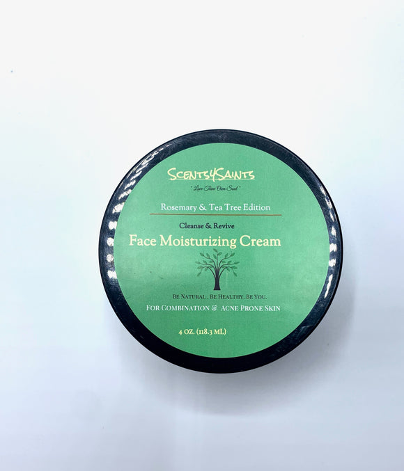 Rosemary & Tea Tree: Cleanse & Revive Facial Moisturizer