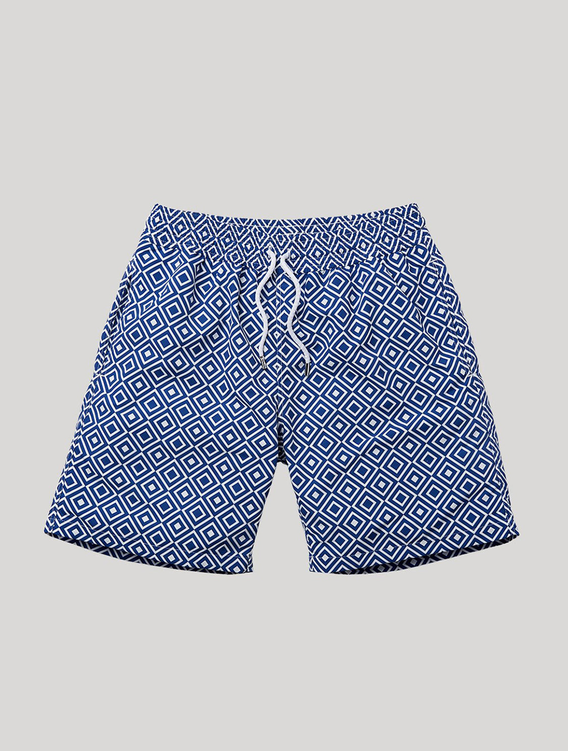 Sport Swim Shorts Angra Print Navy-Blue S