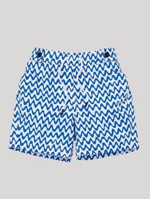 CARIOCA KIDS SWIM SHORTS COPACABANA PRINT