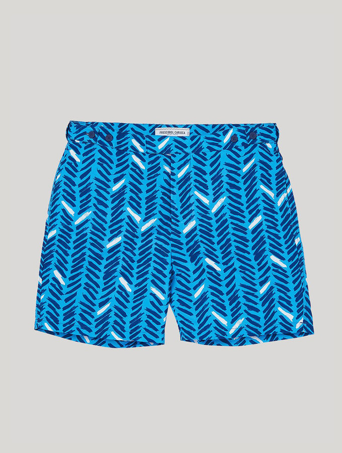TAILORED SWIM SHORTS PIRA PRINT