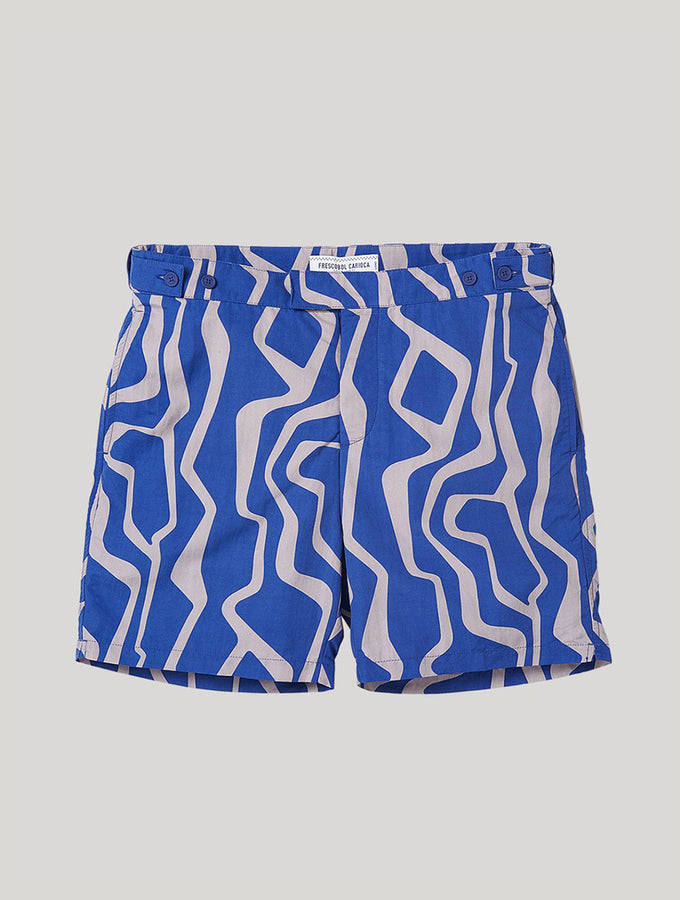 TAILORED SWIM SHORTS JARDIM PRINT