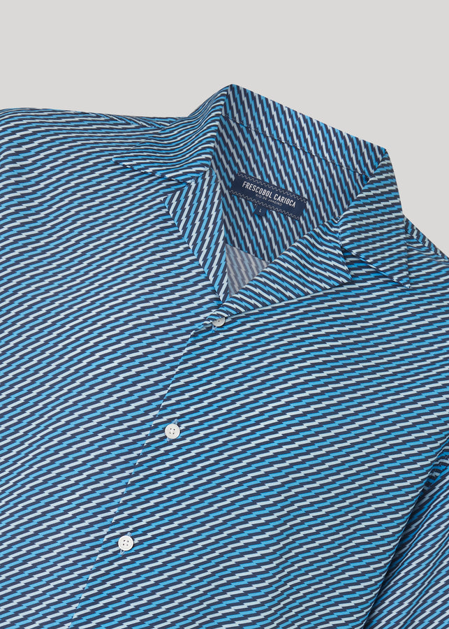Pepê Camp Collar Tencel Shirt