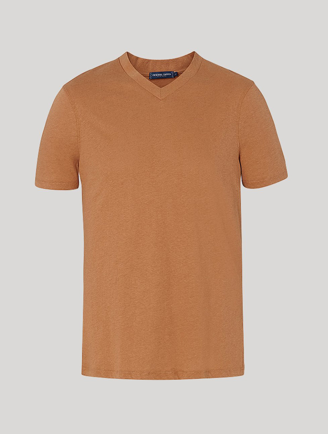 Victor T-Shirt Faded Chestnut L
