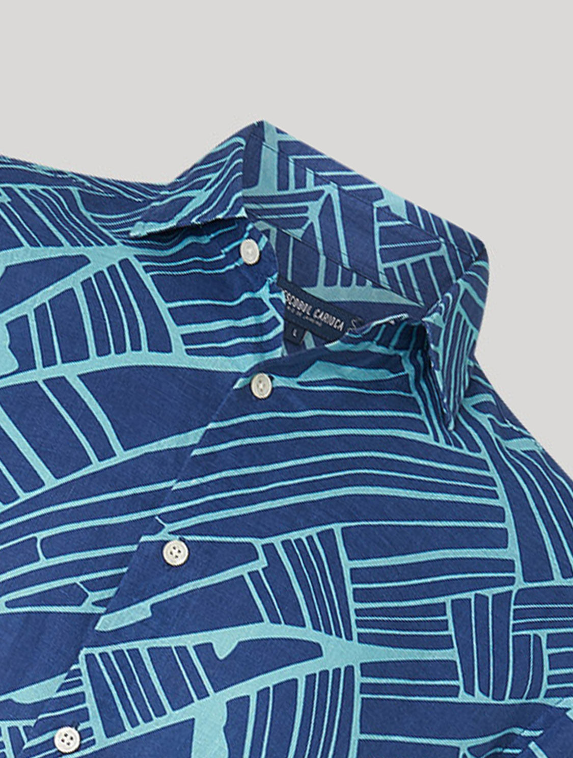 ANTONIO SHIRT ANGLES PRINT