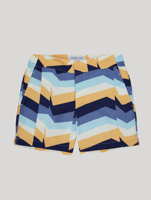 Distillation Print Classic Swim Shorts