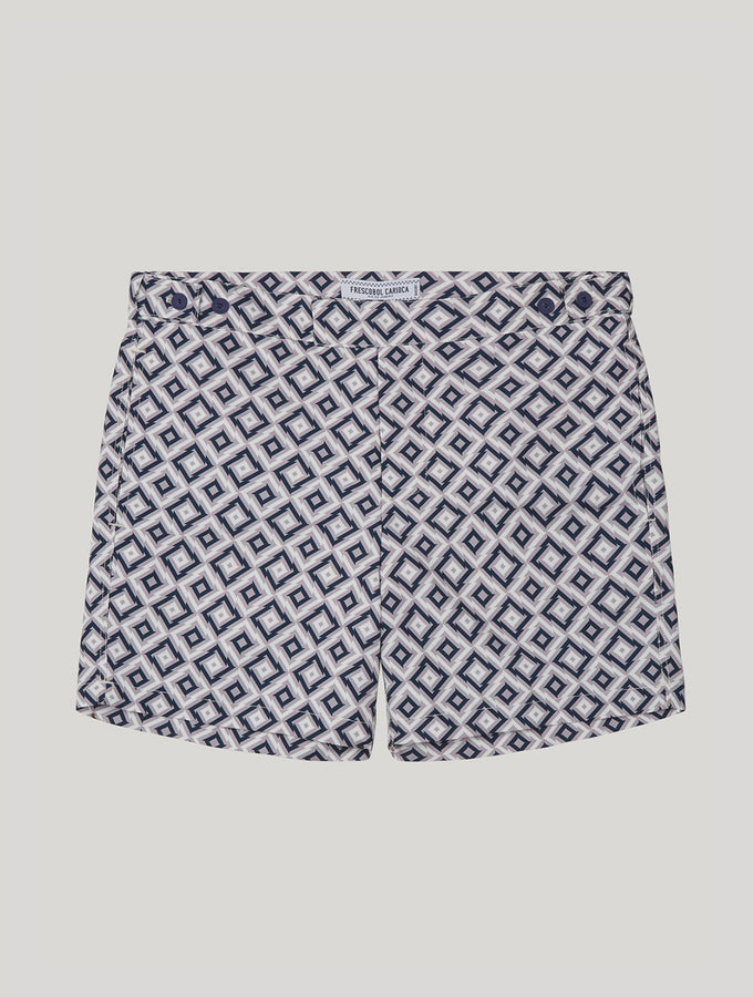TAILORED SWIM SHORTS PANGRA PRINT