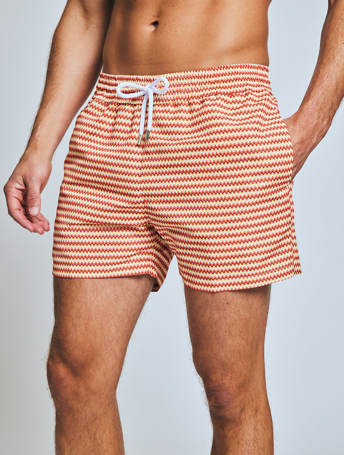 SPORT SWIM SHORTS  SMALL COPACABANA PRINT