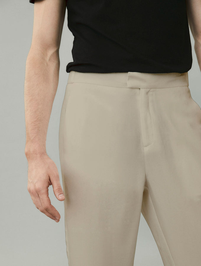 Relaxed-Fit Tencel Trousers