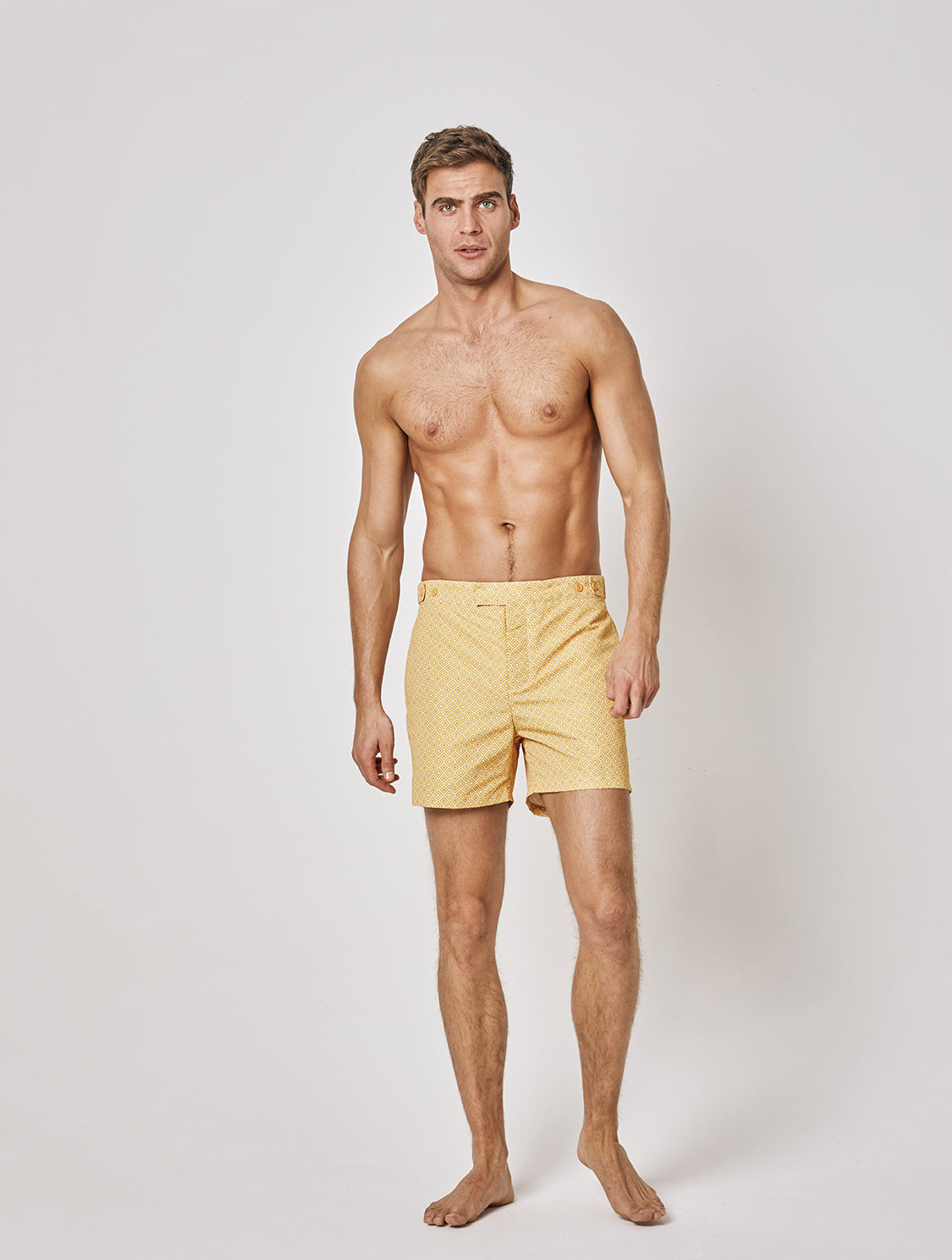 TAILORED SWIM SHORTS AGRA PRINT