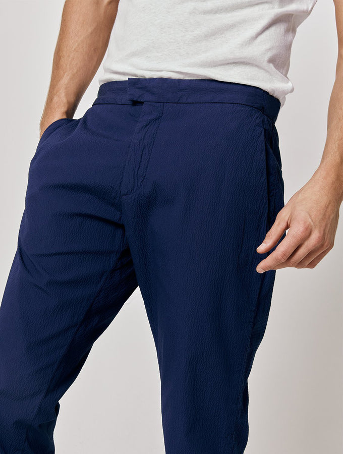 Tailored Seersucker Chinos