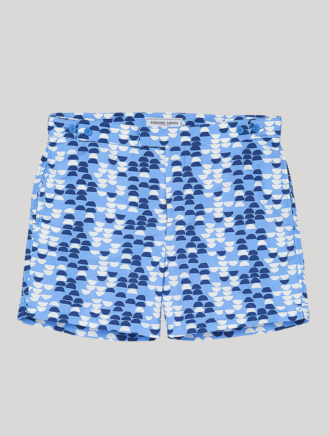 TAILORED SWIM SHORTS SUMMER SAMBA PRINT
