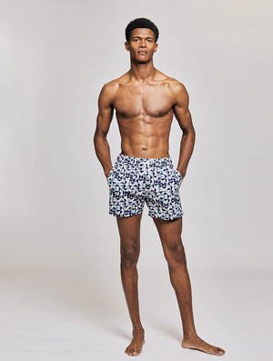 SPORT SWIM SHORTS SHADE PRINT