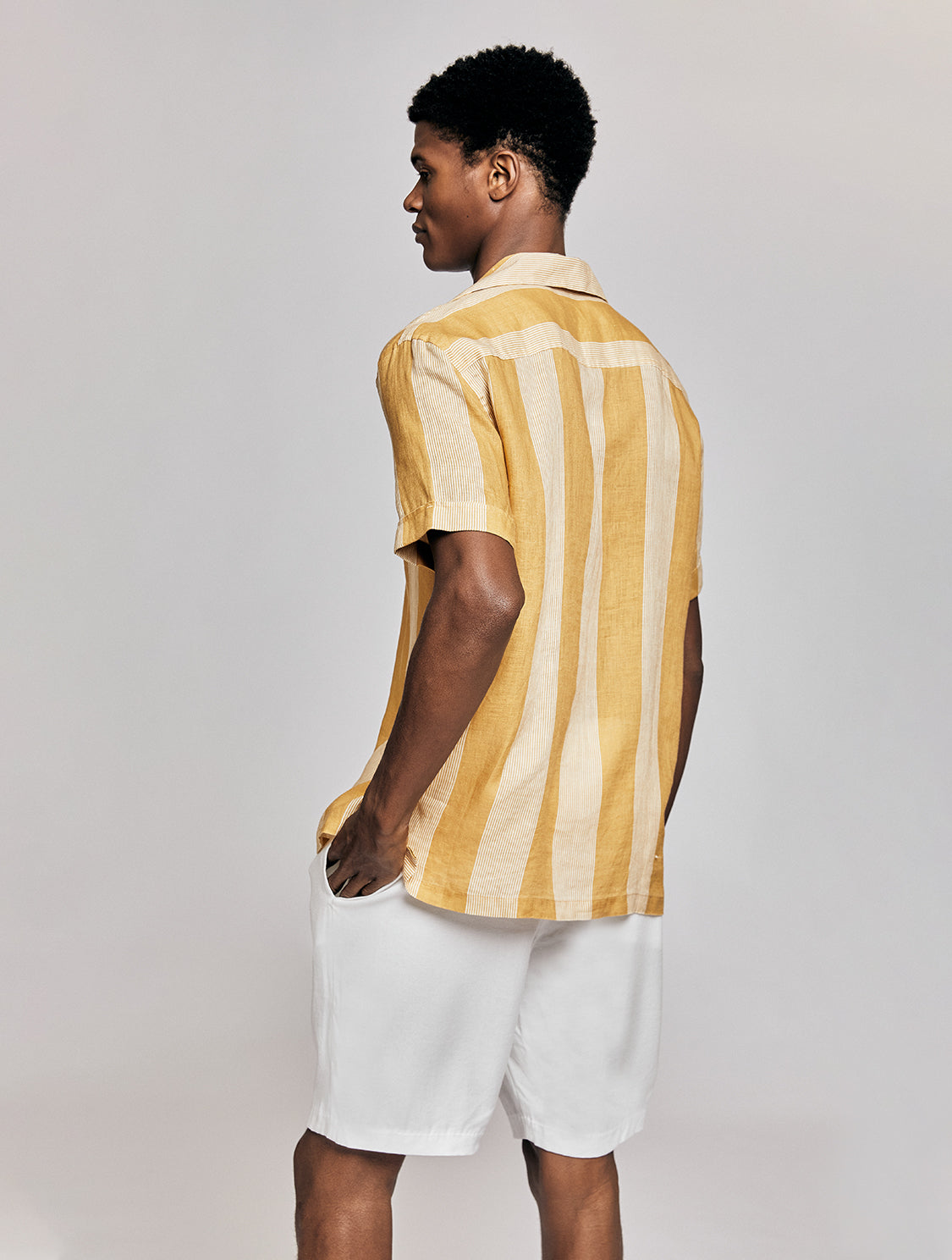 THOMAS SHIRT CABANA STRIPE PRINT