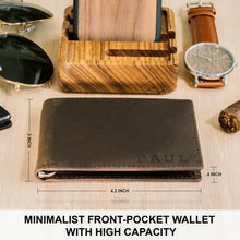 Load image into Gallery viewer, Abundance-Brown Money Clip