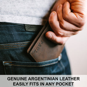 Anniversary Gift for Him,Personalized Wallet,Engraved Wallet,Mens Wallet,Custom Wallet,Leather Wallet,Gift for Dad,Boyfriend Gift for Men