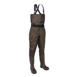 HISEA PVC Chest Waders with Steel Toe Boots