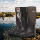 HISEA Men's Rain Boots, Outdoor Hunting Boots