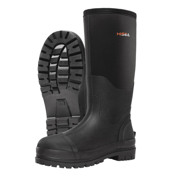 HISEA Insulated Rubber Hunting Boots for Men - hisea.myshopify.com