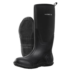 HISEA Outdoor Hunting Boots, Mid-Calf Rain Boots for Women