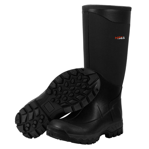 HISEA Snow Boots with Fleece Lining Arctic Grip Outsole