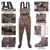 FISHINGSIR PVC Waterproof Waders - hisea.myshopify.com