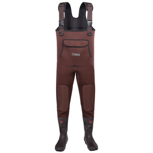 HISEA Neoprene Fishing Chest Waders