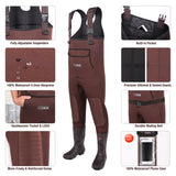 HISEA Neoprene Fishing Chest Waders - hisea.myshopify.com