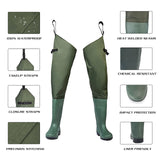 FISHINGSIR Breathable Fishing Hip Waders - hisea.myshopify.com