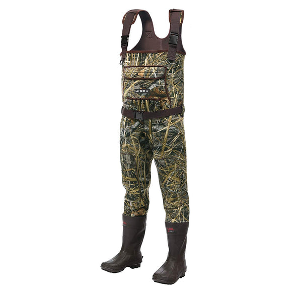 HISEA Neoprene Duck Hunting Chest Waders