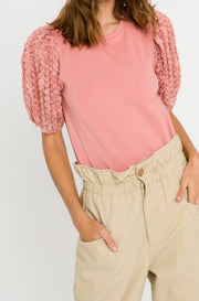 Vanderbilt Embellished Top