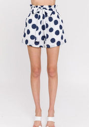 Ida dotted high rise shorts