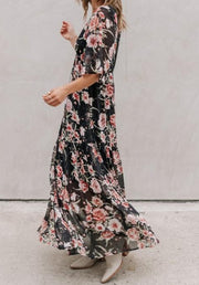 Conklin Floral Dress