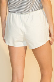Beach shorts, off white