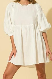 Dawn dress / Cover up, off white