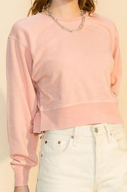Stratus jogger set, misty rose