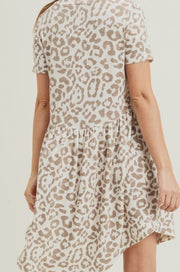 Marple Animal Print Dress