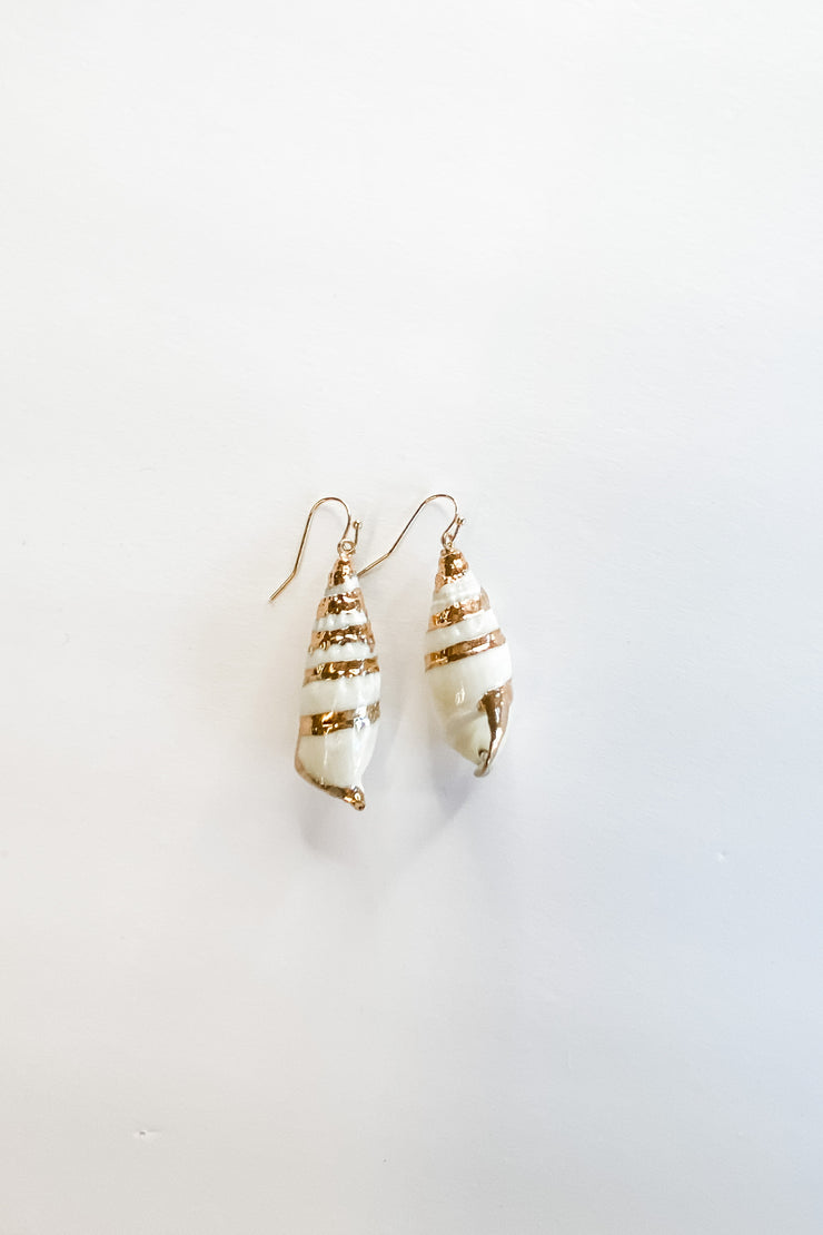 Poe Ave. shell earrings