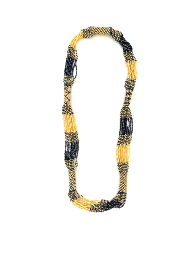 Chelsea tribal bead necklace, multi