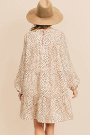 Chalmers St. tiered dress, ivory