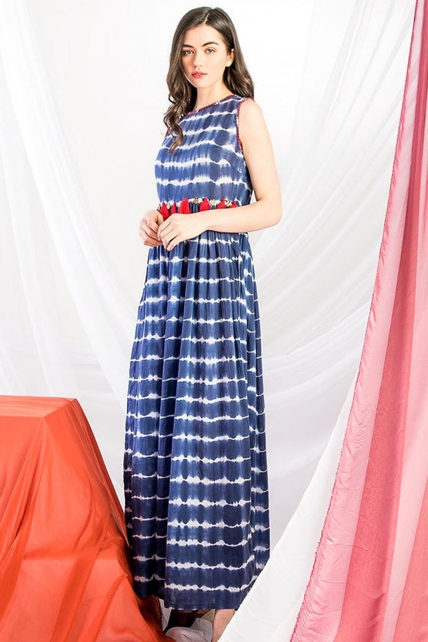 Guiliana Tie Dye Maxi Dress