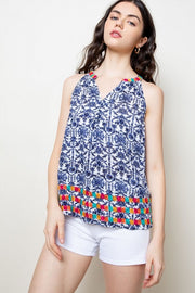 Everleigh embroidered top